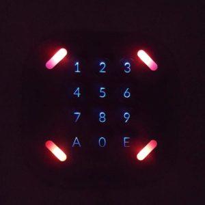 Controllo accessi retroilluminato LabKey.io | Apertura varchi da remoto e apertura elettro serrature