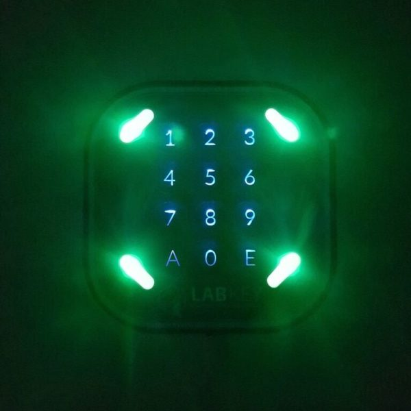 Controllo accessi tastiera