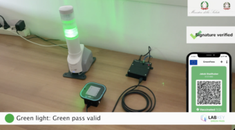 Lettore QR Green Pass